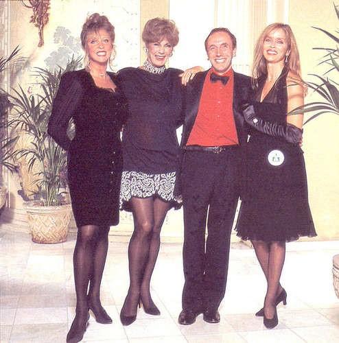 Pattie Boyd, Baroness Fiona Thyssen, Brian Clarke, and Barbara Bach
