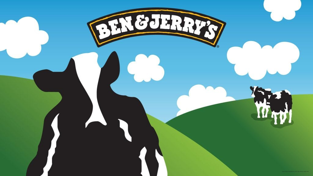Ben and Jerrys banner