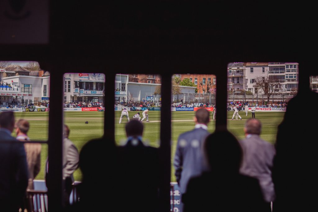 The Boundary Club networking meets cricket May 2015 event at sussex county cricket club