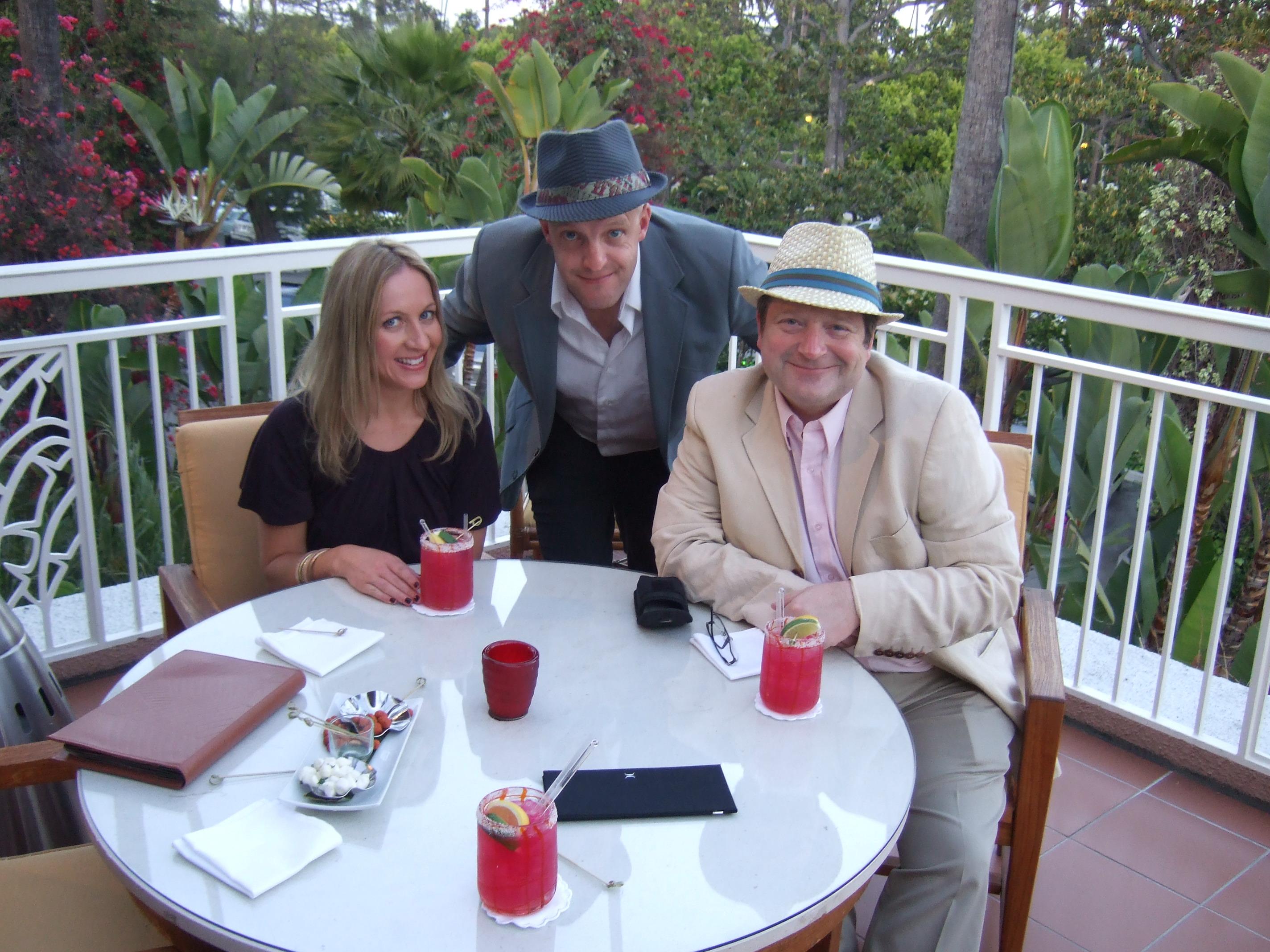 Jim, Matthew & Laura in LA