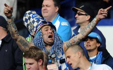 Pompey fan John Westwood