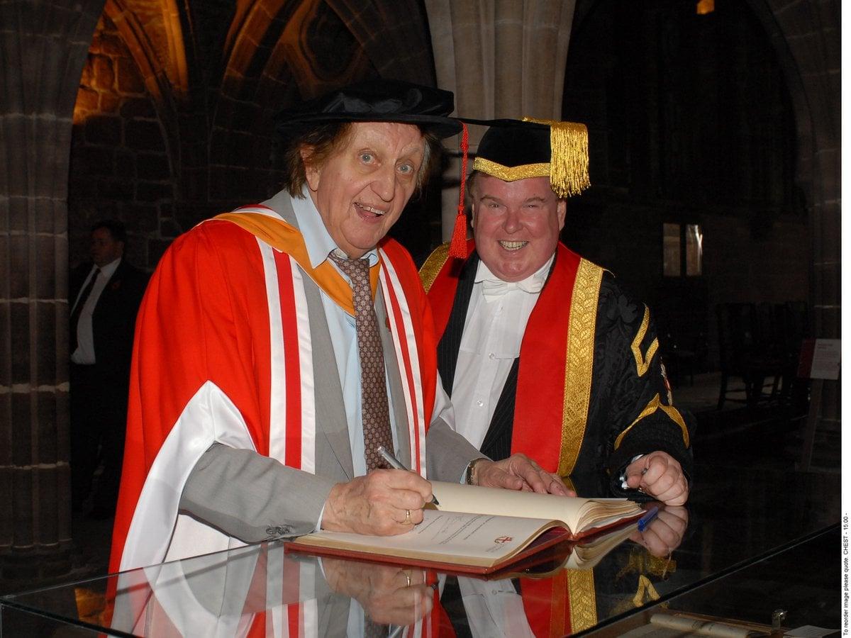 Ken Dodd honoured