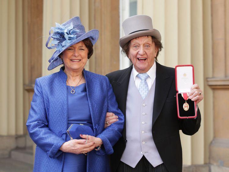 Sir Ken Dodd with Anne