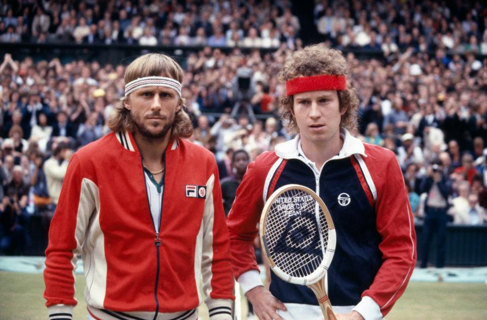 Bjon Borg & John McEnroe
