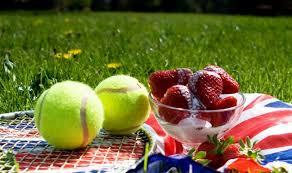 Strawberries & cream Wimbledon