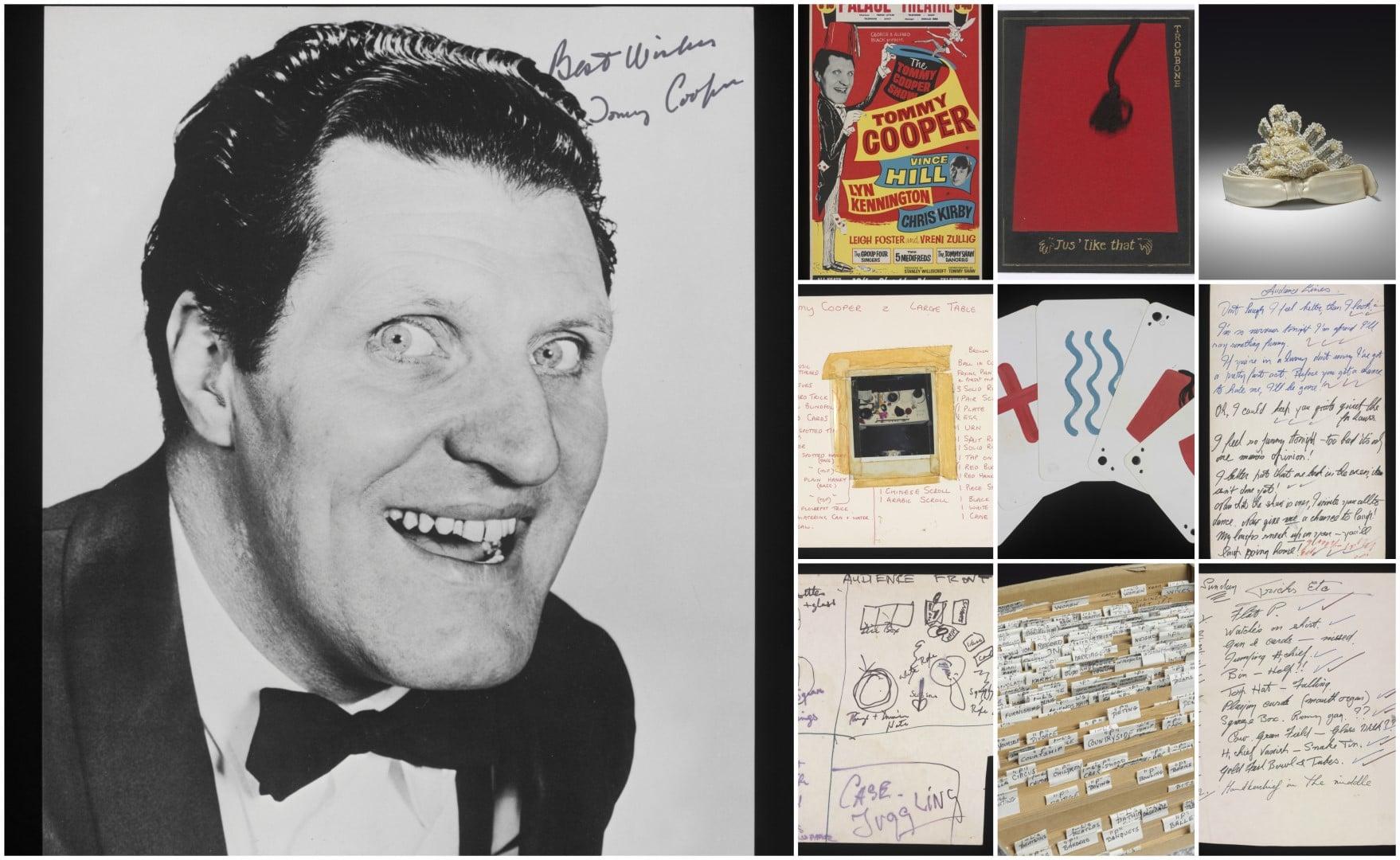 Tommy-Cooper & memorabilia in the V&A Museum